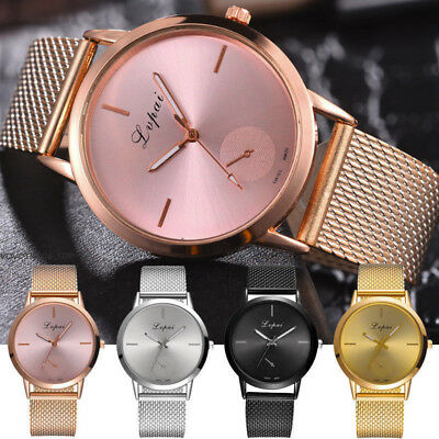 Fashion Quartz Analog Wrist Watch Womens Ladies Silicone Casual Dress Watches