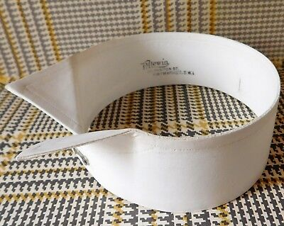 Vintage wing collar size 14.5 TM Lewin Art Deco detachable stiff starched UNUSED