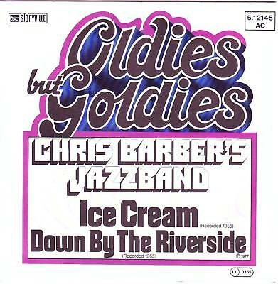 """7"" - CHRIS BARBER´S JAZZBAND - Ice Cream"