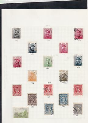 serbia stamps page ref 16851