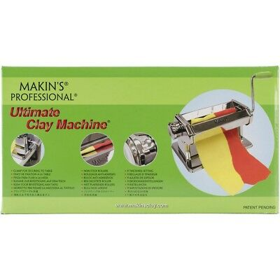 L'argile Ultime Machin Inoxydable - Makins Ultimate Clay Machine Professional
