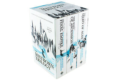 Mistborn Trilogy Box Set By Brandon Sanderson, The Final Empire, The Well Of Asc