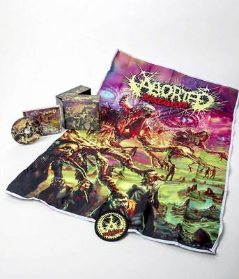 Aborted - Terrorvision (Ltd. Deluxe Ed. Box Set w. patch, poster flag + 2 bonus