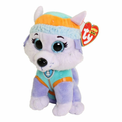 Everest Paw Patrol Ty stuffed animal Plush figure 6""