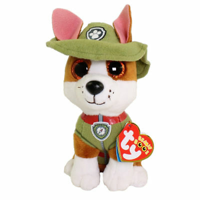 Tracker Paw Patrol Ty stuffed animal Plush figure 6""