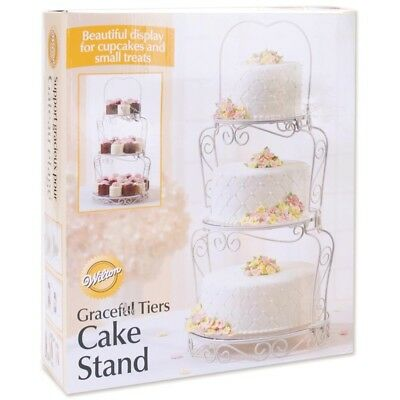 Wilton Graceful Tiers 3-tier Cake Stand - 3 Wedding