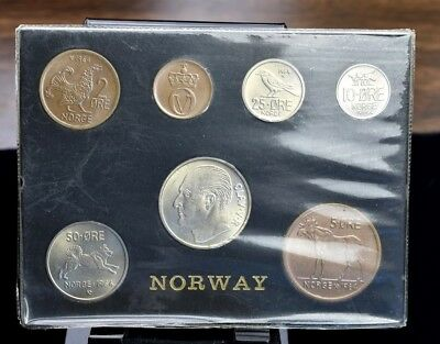 1964 Norway - 7 Coin Set