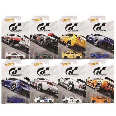 Hot Wheels 2018 Gran Turismo 1/64 Scale Die-Cast Car Collection