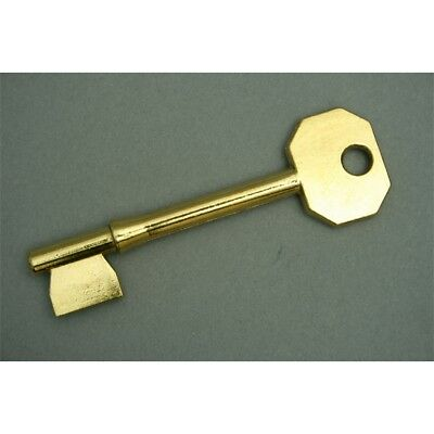 Chubb Brass Mortice Blank, Pack 10