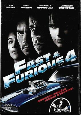 DVD Fast & Furious 4 VIN DIESEL - PAUL WALKER   Occasion