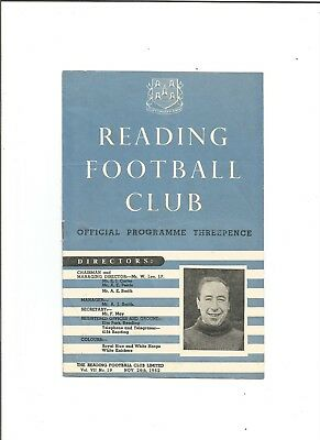 READING v CRYSTAL PALACE (F.A Cup) 1952/53