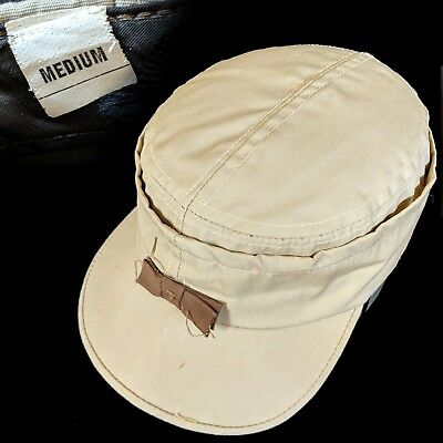 Vintage 1950s Work and Leisure Cap size M Hat workwear