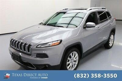 Jeep Cherokee Limited Texas Direct Auto 2015 Limited Used 3.2L V6 24V Automatic FWD SUV