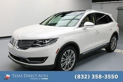Lincoln MKX Reserve Texas Direct Auto 2016 Reserve Used Turbo 2.7L V6 24V Automatic FWD SUV