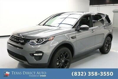 Land Rover Discovery Sport HSE Texas Direct Auto 2017 HSE Used Turbo 2L I4 16V Automatic 4WD SUV Premium