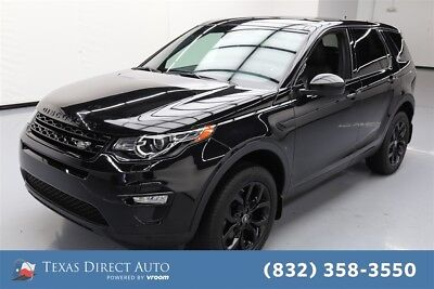 Land Rover Discovery Sport HSE Texas Direct Auto 2016 HSE Used Turbo 2L I4 16V Automatic 4WD SUV Premium