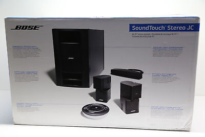 Bose-Soundtouch Stereo JC Series 1 WiFi Music System in Schwarz NEU mit OVP