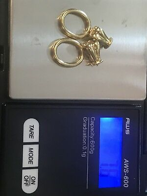 18k Yellow Gold Scrap 7.6 Grams Links And Ends