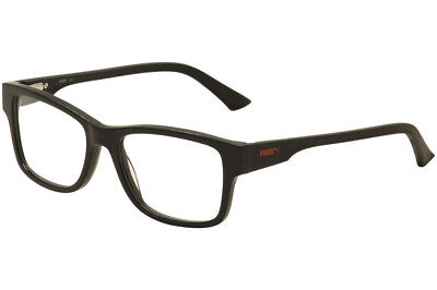 f943b0d43e4f Puma Men's Eyeglasses PU0031O PU/0031O 001 Black Full Rim Optical Frame 53mm
