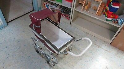 vintage baby carriage stroller for Dolls  Plays Rock a Bye Baby