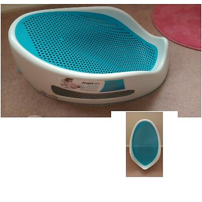 blue AngelCare baby bath seat suitable from birth