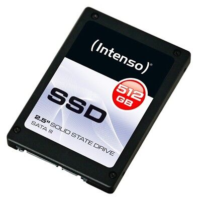 Intenso SSD Festplatte 2,5´´ intern, 512 GB, 7-Pin S-ATA 3.0/6G/600