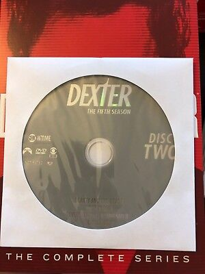 Dexter - Season 5, Disc 2 REPLACEMENT DISC (not full season)