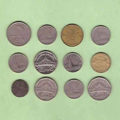 Thailand - Coin Collection - Lot # Z-21 - World/Foreign/Asia