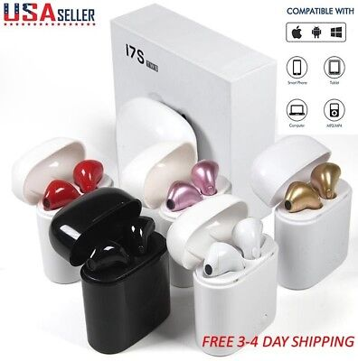 Mini i7S TWS Twins Wireless Bluetooth Earbuds In-ear Earphone for iPhone Samsung