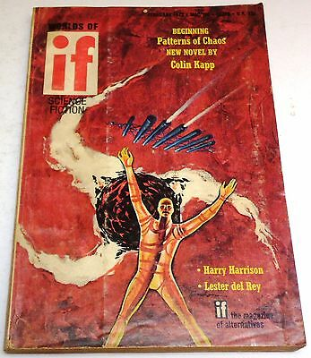 Worlds of If - US digest - Jan./Feb. 1972 #158 - Vol.21 No.3 - Harry Harrison