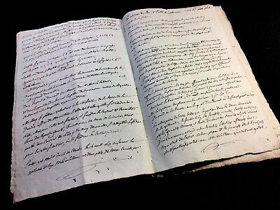 VERY OLD MANUSCRIPT 1807   10 pages