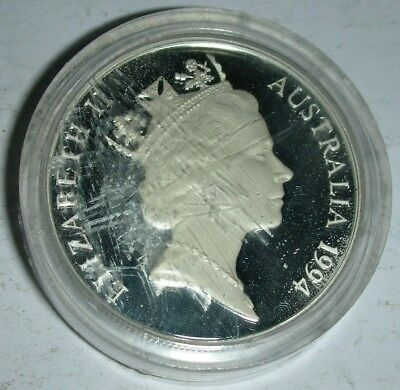 1994 Australia 10 Dollar Wedge Tailed Eagle (case is scratched, NOT the coin!)