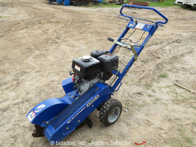 "2012 Bluebird SG1314B Stump Grinder Honda GX390 14"" Diameter Wheel bidadoo"