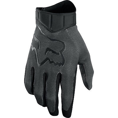 Fox - Airline Race Black/Charcoal Men Gloves - Small