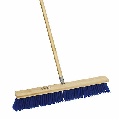 """Harper 587924SC 24"""" Rough Surface Outdoor Push Broom With Handle"""