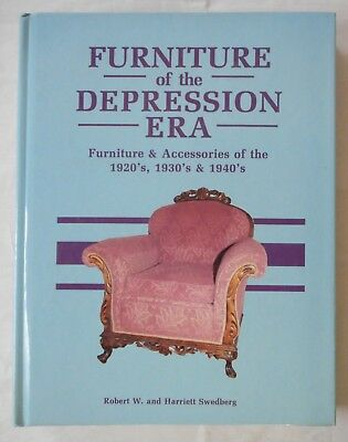 Guide Furniture of the Depression Era, Robert W and Harriett Swedberg (1987 HC)