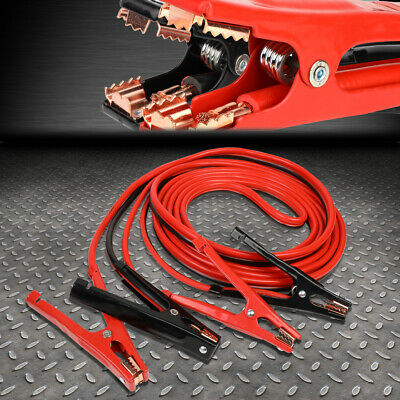 Heavy Duty 4 Gauge 25 Ft Battery Booster Cable Emergency Power Jumper 500 Amp