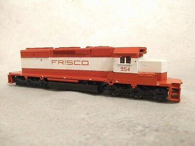 HO Scale Athearn Blue Box Powered SD40-2 Diesel - Frisco SLSF #954 [SS]