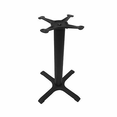 JI Bases Cast Iron 22-inch 4-Prong Restaurant Table Base with 3-inch Column and