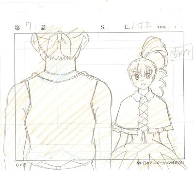 Anime Genga not Cel Hunter X Hunter #104