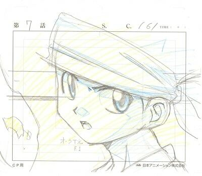 Anime Genga not Cel Hunter X Hunter #97