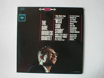 Lp 1962 The Dave Brubeck Quartet West Side Story + Dialogues For Jazz Combo