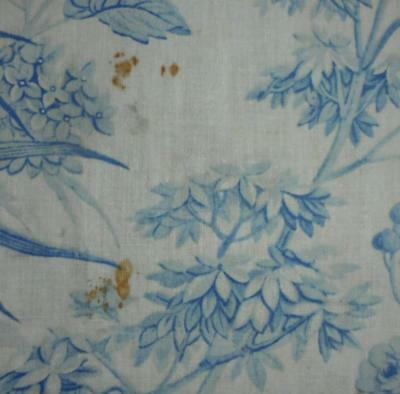 SUMMER CLEAROUT, TIMEWORN EARLY 19th CENTURY FRENCH TOILE DE JOUY, REF 287.