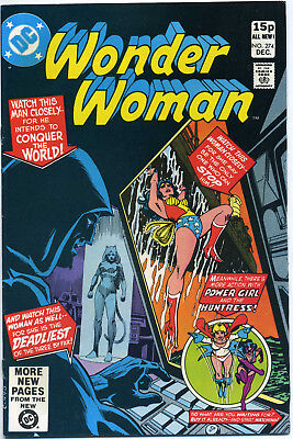 WONDER WOMAN #274 (DC 1980) VF FIRST PRINT BAGGED 1st APPEARANCE OF CHEETAH