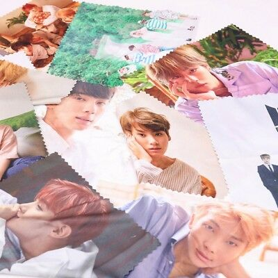 KPOP BTS LOVE YOURSELF Microfiber Glasses Cleaning Cloth Gift JUNGKOOK SUGA Gift