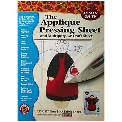 Bear Thread 13 x 17-inch The Applique Pressing Sheet - 17inch
