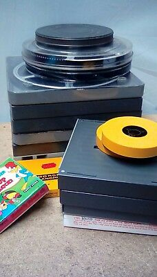 1010 Job Lot Of Vintage Film Reels
