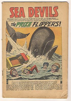 Showcase No 28 Sea Devils COVERLESS March April 1966 DC Offers Encouraged