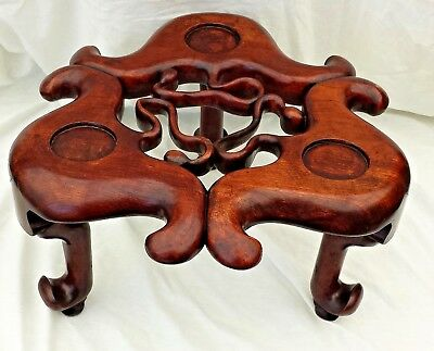 Chinese Rosewood Pot Stand