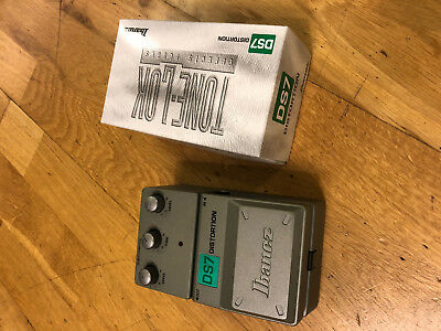 Ibanez Tone Lok DS7 Distortion Pedal  -  Pedal  FX  / Vintage Analog NOS in Box!
